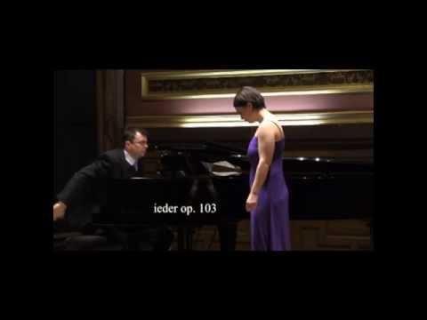Johannes Brahms: Zigeunerlieder op. 103