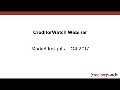 CreditorWatch Market Insights Q4 2017