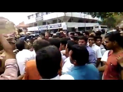 KSU Vs DYFI Thrissur District