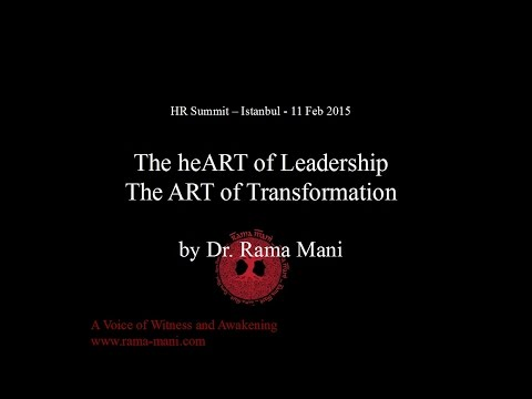 The heART of Leadership. The ART of Transformation