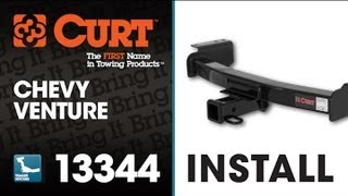 Trailer Hitch Install: CURT 13344 on 2001 Chevrolet Venture