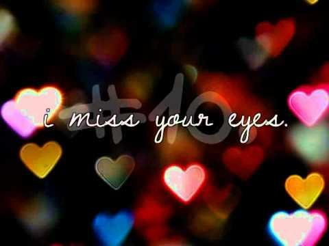 » All these things I miss. [ɪ/vɪ]