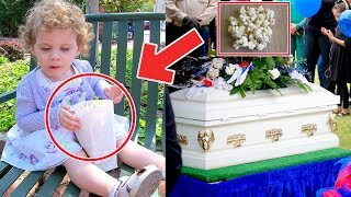 Madre le da a su hija palomitas de maíz, 6 meses después la bebé muere por este terrible error.