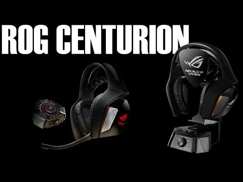 Asus ROG Centurion Gaming Headset Review