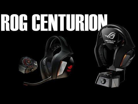 Asus ROG Centurion Gaming Headset Review
