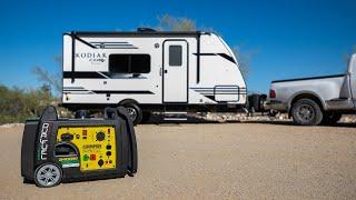#1 Item for Boondocking - Champion Inverter Generator review 3400 watt Dual-Fuel