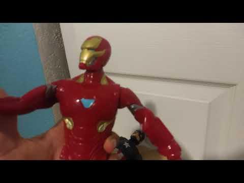 """""""Captain America and Mark 50 Ironman avengers endgame"""""""