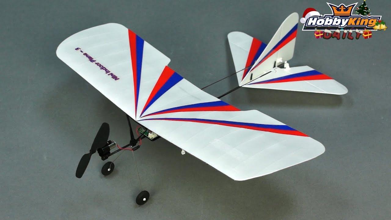HobbyKing Daily - Mini Indoor Plane - YouTube