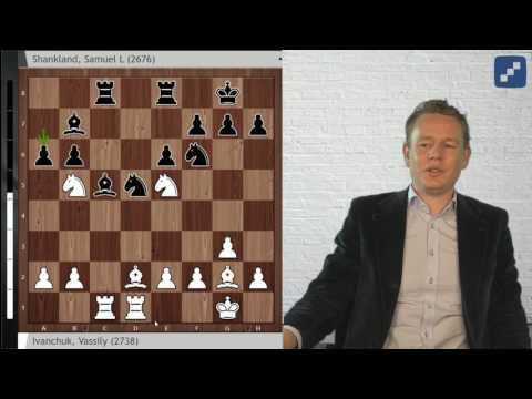 Grandmaster Analysis: Vassily Ivanchuk with a deep exchange sacrifice