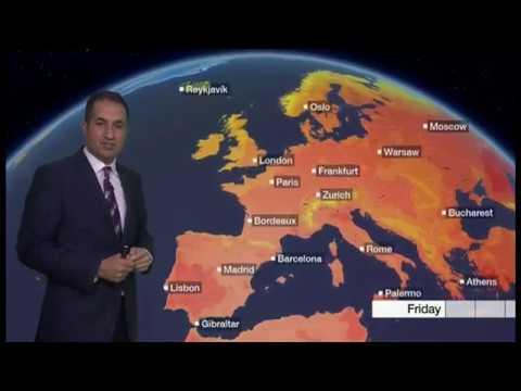 Extreme weather 2018 - (USA, India, Europe & UK) - BBC - 31st July 2018