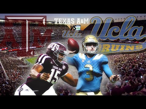 Texas A&M - UCLA Football Hype Video