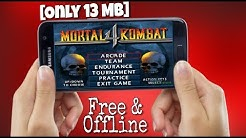[Only 13 MB] How To Play MK4/Mortal Kombat 4 On Android - Free & Offline ?