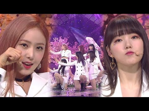 《ADORABLE》 GFRIEND(여자친구) - Time for the moon night(밤) @인기가요 Inkigayo 20180520
