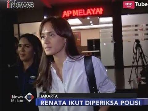 Pasca Penangkapan, Renata Istri Fachri Albar Ikut Diperiksa Polisi - iNews Malam 14/02
