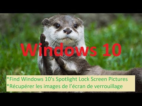 Find Windows 10 S Spotlight Lock Screen Pictures Youtube