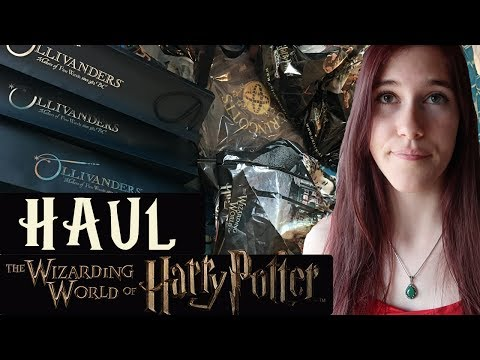 IMMENSE HAUL HARRY POTTER | Wizarding World of Harry Potter, Orlando