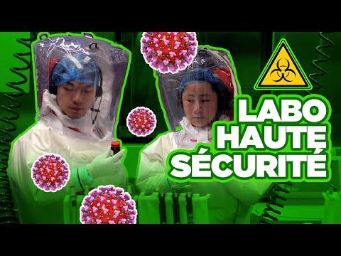 Sécurité contre les virus: les laboratoires P4 - Science & Vie TV