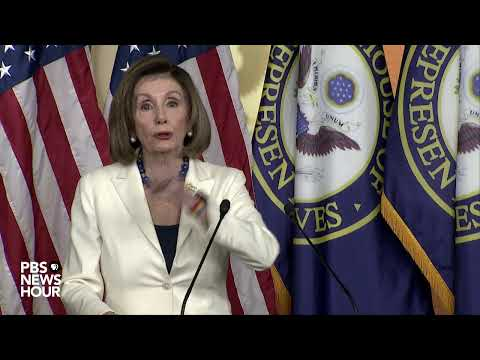 WATCH: Pelosi holds news conference after approving drafting of impeachment articles