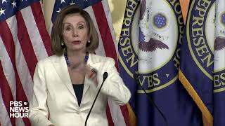 WATCH LIVE: Pelosi holds news conference after approving drafting of impeachment articles