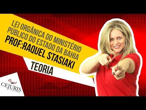 Lei Orgânica do Ministério Público do Estado da Bahia  - MP Bahia