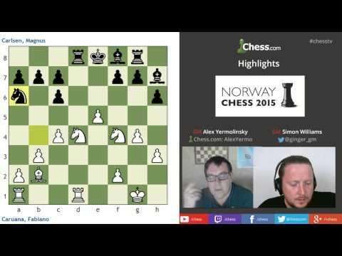 Norway Chess Recap Round 2: GM Yermolinsky And GM Williams