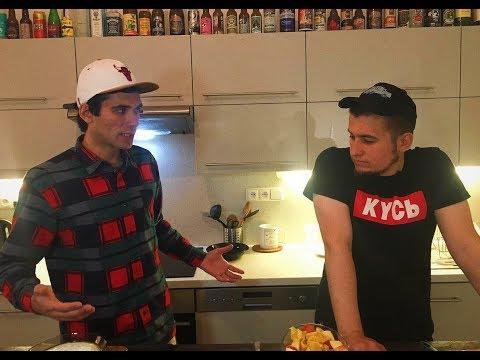 Андрей Барабанов и Алексей Полихович. Как сделать фруктовый салат. Диетический десерт