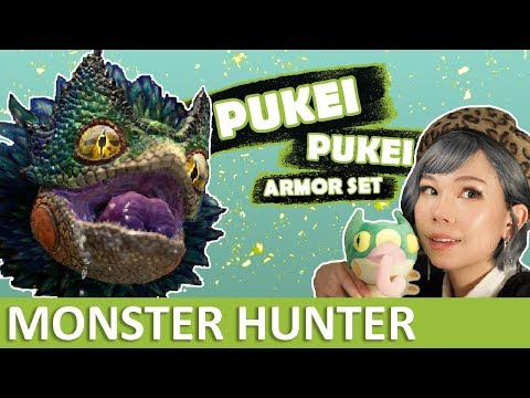 Monster Hunter Cosplay | Making Pukei-Pukei's iridescent fur and feathers