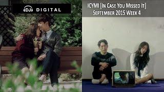 K-Pop ICYMI - September 2015 Week 4 (New K-Pop Releases)