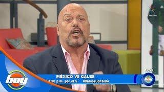 ¡'El Perro' Bermúdez, listo para el mundial a lado de Televisa Deportes! | Hoy