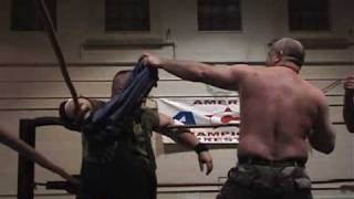 ACW Wrestling Sgt. Jim Nelson vs. Col. Spud Wade Bootcamp Match