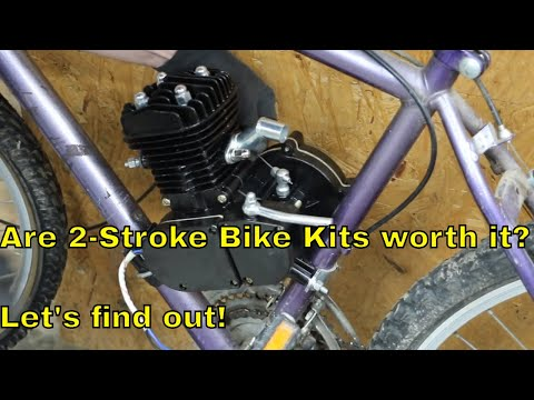 Are 2-Stroke Bicycle Engine Kits worth it? Let's find out!