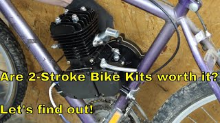 Download Are 2-Stroke Bicycle Engine Kits worth it? Let's find out! Mp3 and Videos