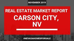 Carson City Real Estate Market Update November 2018 | Nevada Homes for Sale