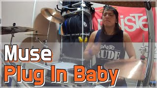 Muse - Plug In Baby - Drum Cover (By Boogie Drum)