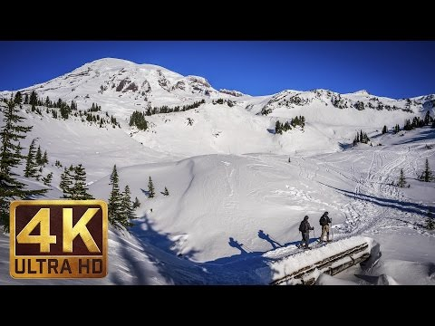 Mount Rainier National Park. Episode 3 - 4K Nature Documentary Film