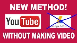 *New Way* Earn $3000 On Youtube Without Recording Video & Without Being MONETIZED