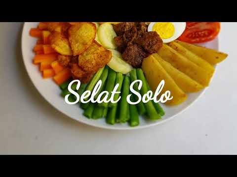 Selat Solo - Masakan Jawa Dari Solo Dg Pengaruh Hidangan Eropa