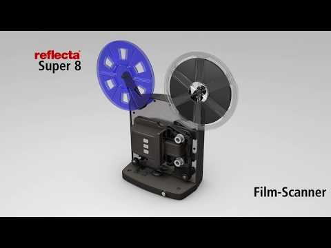 Reflecta Super 8 Scanner Animationsvideo