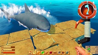 Raft - Part 1 - SHARK ATTACK!