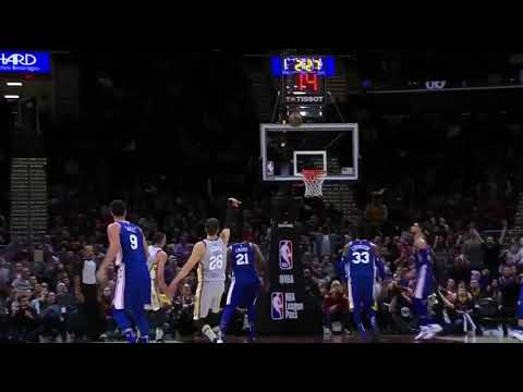 Cleveland Cavaliers intro 2018 (Hill, Hood & Nance Jr.)