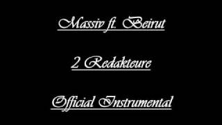 Massiv ft. Beirut - 2 Redakteure (Official Instrumental)