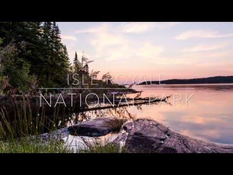 Isle Royale National Park 4K Timelapse