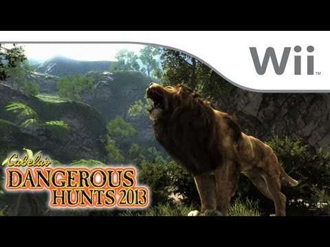 Cabela's Dangerous Hunts 2013 - First 16 Minutes [Wii]
