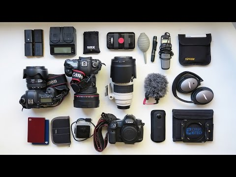 What's in my timelapse bag?