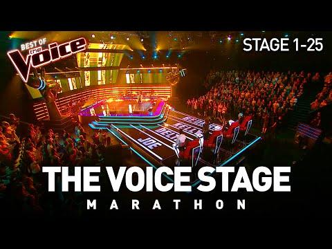 The Voice Stage Marathon   Part 1   Stage 1-25