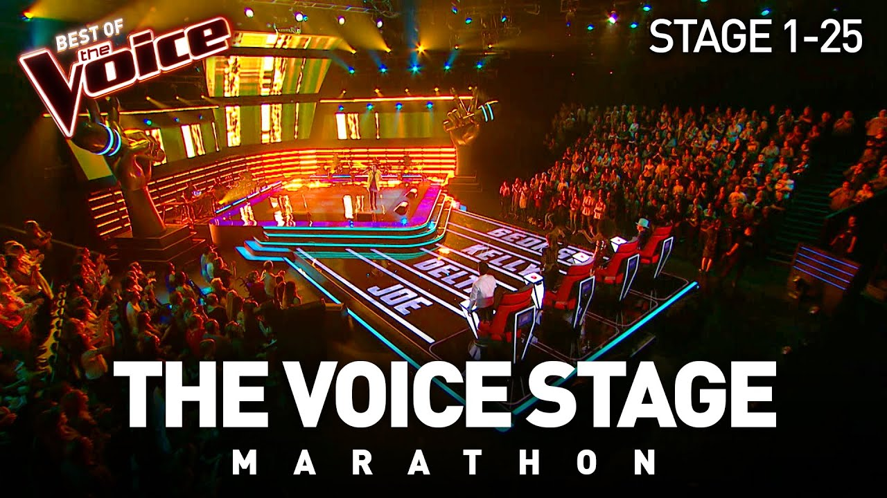 Download The Voice Stage Marathon | Part 1 | Stage 1-25