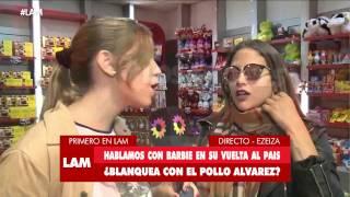 "Barbie Vélez habló de la ""foto mimosa"" con el Pollo Álvarez"