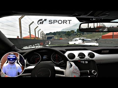Gran Turismo Sport -  PSVR Races | PS4 Pro Gameplay