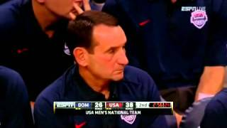 Dominican Republic vs  USA 7 12 2012 2nd Quarter00h17m39s 00h23m33s