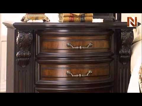 Grand Estates Nightstand C7102 02 by Fairmont Designs YouTube